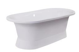Каменная ванна Aqua de Marco Валенсия белая 175*80