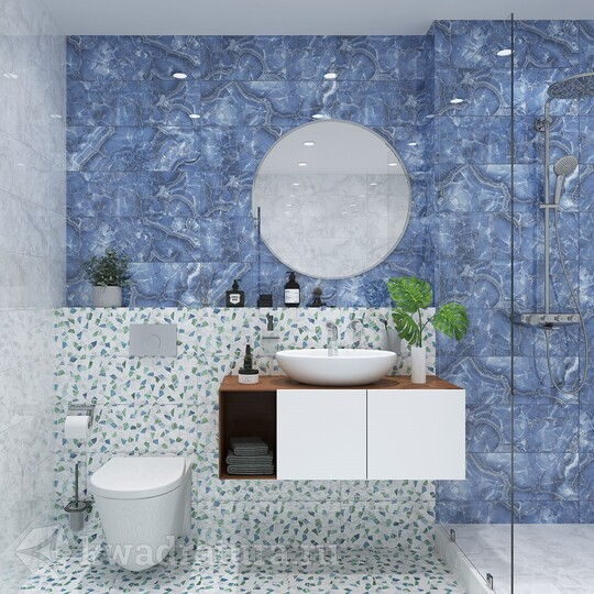 Плитка Global Tile Bienalle синий